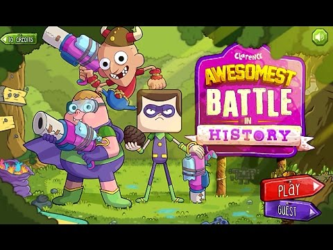 Clarence - AWESOMEST BATTLE In HISTORY (Capture The Flag) - Cartoon Network Games