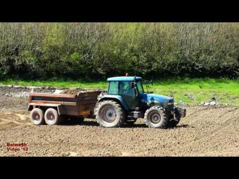 Stone-picking up with Ease! - Case and New Holland Action.