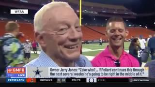 Jerry Jones: Zeke who?...   Can Tony Pollard replace Ezekiel Elliott?