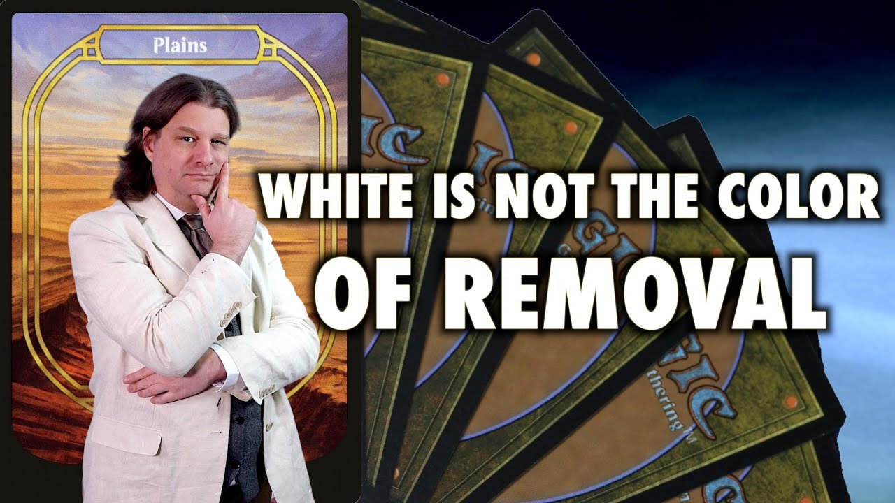 White Is Not The Color Of Removal (Or Much Else) | Magic: The Gathering