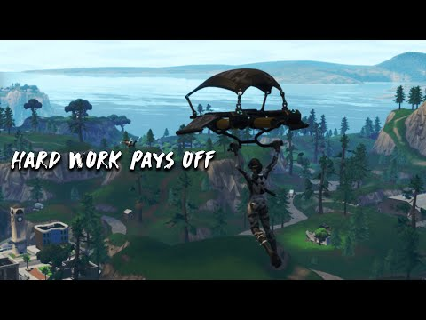 Hard work pays off ~ A fortnite montage.