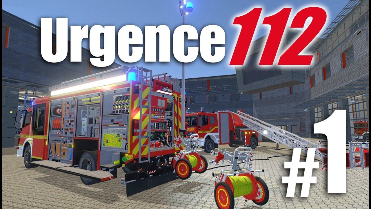 urgence 112 pompiers simulateur youtube. Black Bedroom Furniture Sets. Home Design Ideas