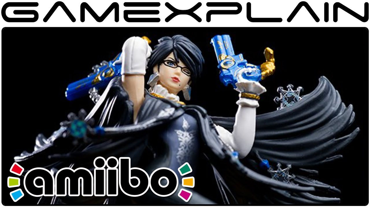 Link, Bayonetta, Corrin, & Cloud - amiibo Slideshow Showcase - YouTube