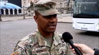 Soldats américains - Défilé du 14 juillet 2017