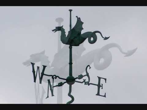 Weathervanes of Cambridge - North Wind & Winter