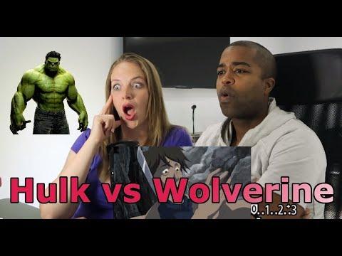 Hulk Vs Wolverine (REACTION 🔥) Movie Review