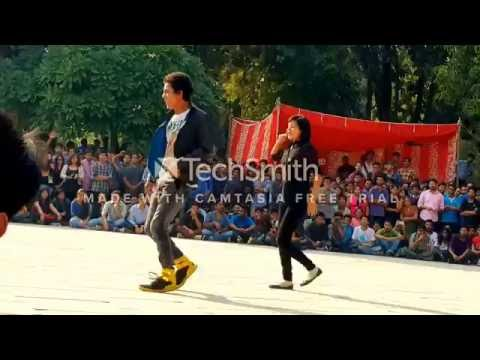 Amazing Step up dance THOMSO IIT ROORKEE