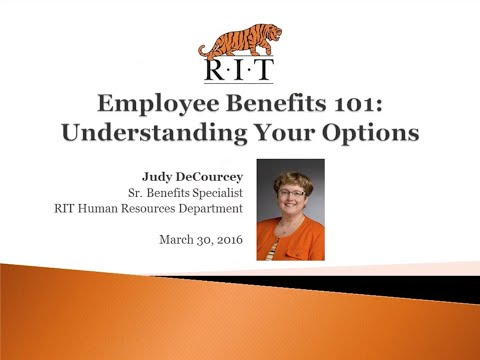 Tiger Webinar: Employee Benefits 101: Understanding Your Options
