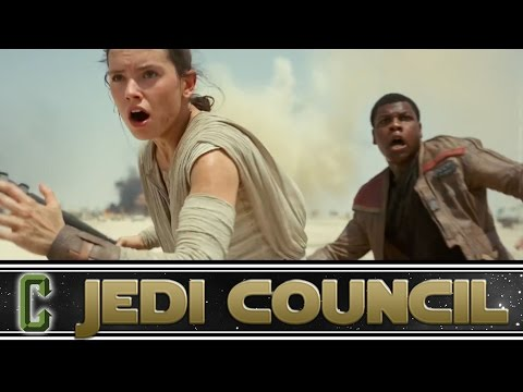 Collider Jedi Council - Star Wars: The Force Awakens Trailer Review and Breakdown Special