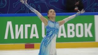 Камила Валиева Короткая программа Кубок Первого Канала 06 02 2021