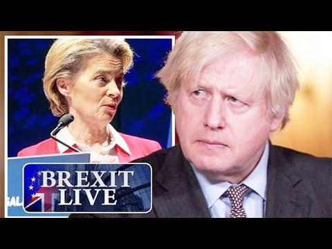 Brexit LIVE Brussels alarm bells as Attorney General BACKS Boris pIan to RlP Up EU ruIes
