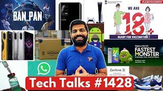 Teknik Konuşmalar # 1428 - Poco F3 GT Lansmanı, PUBG Ban Pan, CoWIN Crash, Zenfone 8, PS5 Satışları, M42 5G Hindistan