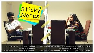STICKY NOTES - Malayalam Short Film 2015 - by C-DIT -HD