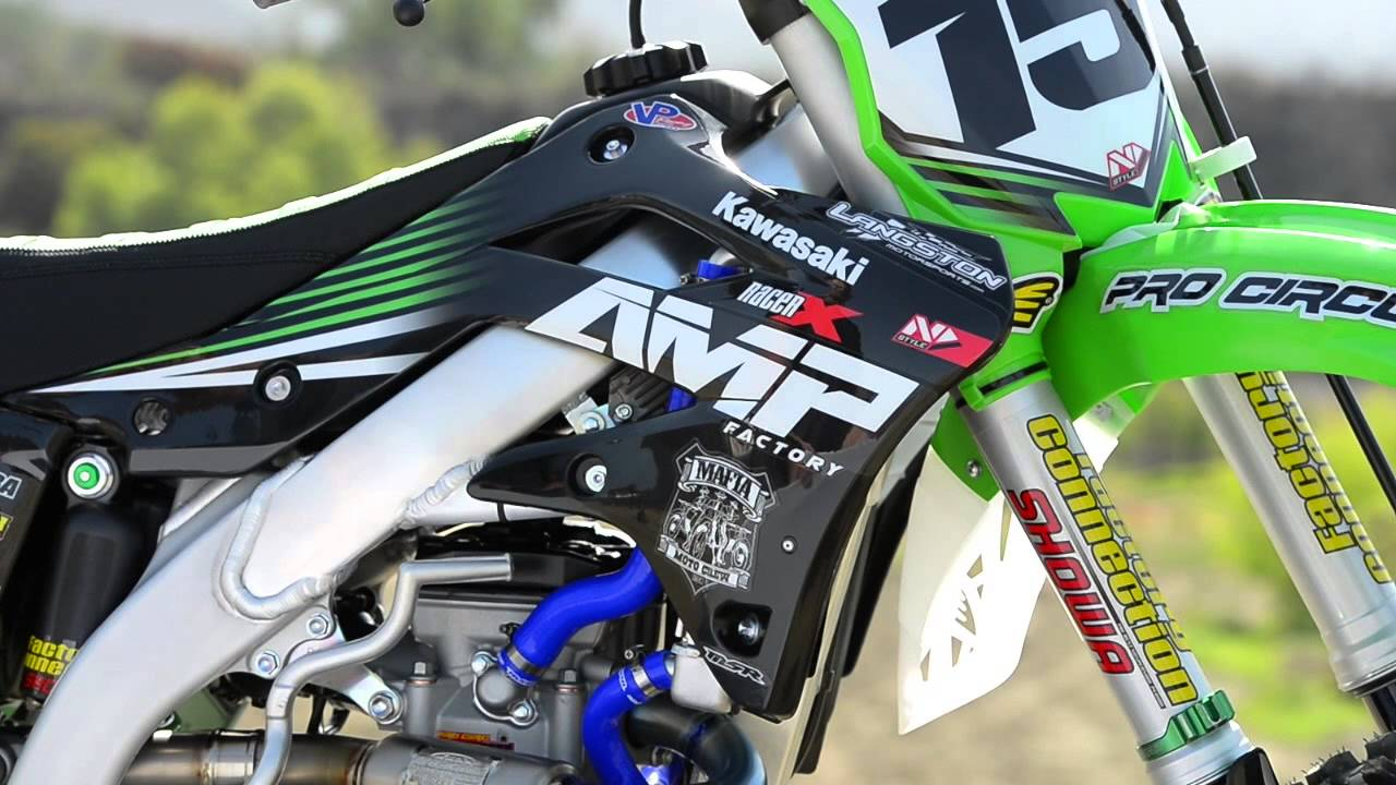 Racer X Films 2015 Kawasaki Kx450f Vet Rider Project