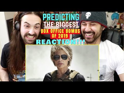 PREDICTING The Biggest BOX OFFICE BOMBS Of 2019 -  REACTION!!!
