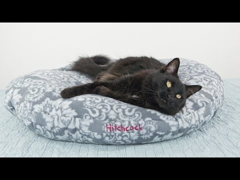 How To Sew A Fleece Pet Bed - Dog Or Cat