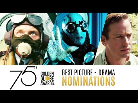 75th Golden Globe Awards Nominees  Best Picture Drama  Compilation