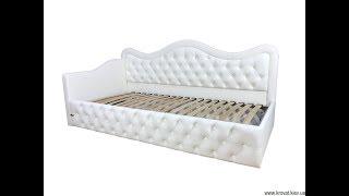 видео Кровать односпальная