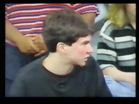 Brian Viglione on RAP AROUND 1995 - Students discuss Penny Culliton & LGBT in school