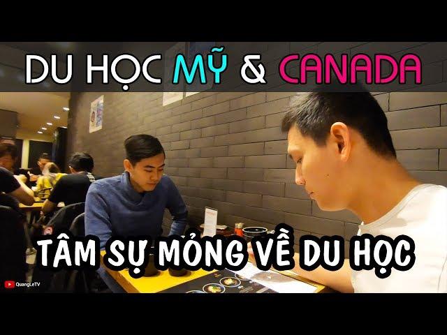 Du học Cấp 3 ở Mỹ, Đại Học ở Canada NGÀNH XÂY DỰNG   Trò Chuyện với Du Học Sinh   Quang Lê TV #207