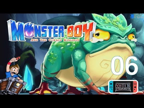 Crystal Caves Ancient Frog Boss Monster Boy and the Cursed Kingdom Part 6   Nintendo Switch Gameplay thumbnail