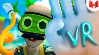 Видеоблогер на отдыхе (VR)