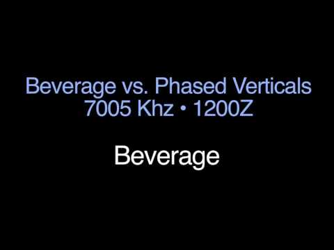 BEVERAGE ELIMINATES LOCAL NOISE: Beverage Antenna Experiments