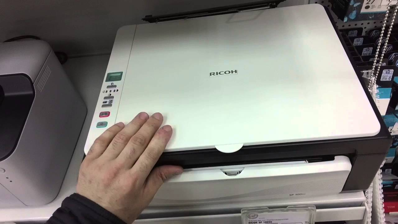 RICOH SP 100SU WINDOWS VISTA DRIVER