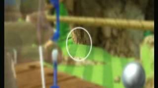 wii sports resort bogenschieen geheime ziele