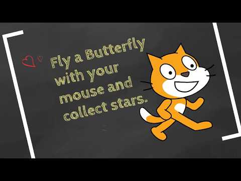 Game Programming in Scratch 3.0 - Beginner Tutorial (Butterfly Game) thumbnail