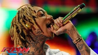 Wiz Khalifa performs: Raw, March 9, 2015
