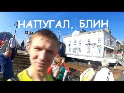 Moscow ту Ярославль (часть 1. Москва-Сергиев Посад)