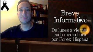 Breve Informativo - Noticias Forex del 6 de Noviembre 2018