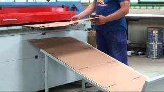 Boxmat 2400 - Corrugated Cardboard Boxmaker. Automatic Machine For Making Flap Boxes