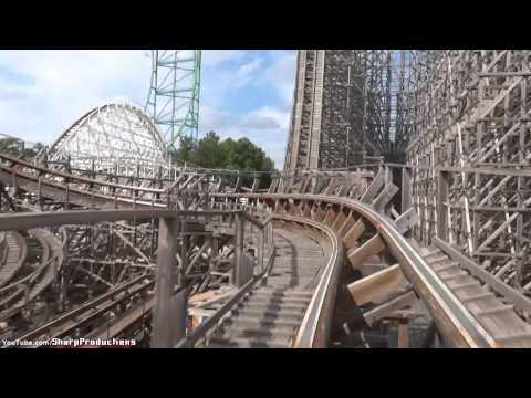 El Toro (On-Ride) Six Flags Great Adventure