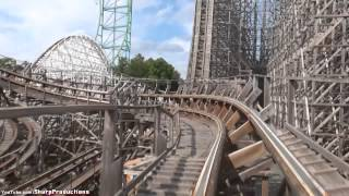 El Toro (On-Ride) Six Flags Great Adventure