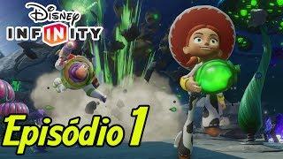 [PT-BR] DISNEY INFINITY - Toy Story no Espaço #1