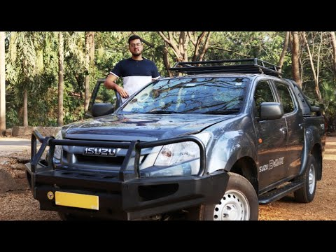 ISUZU-DMAX SCAB |  indepth review, mileage, price | CLOZOTECH