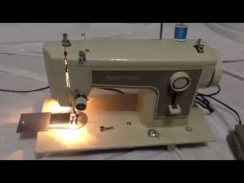 How to thread Sears Kenmore Sewing Machine 158.12270, 158