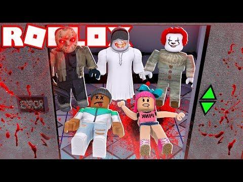 ESCAPE OR DIE!! - Roblox Horror Elevator