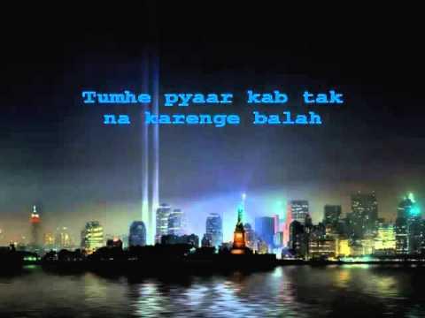 Zindagi Do Pal Ki Karaoke With Lyrics   YouTube