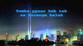 Zindagi Do Pal Ki Karaoke With Lyrics YouTube