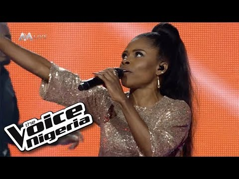 """Download Shapera - """"I Wanna Dance With Somebody.""""/ Live Show/ The Voice Nigeria Season 2"""