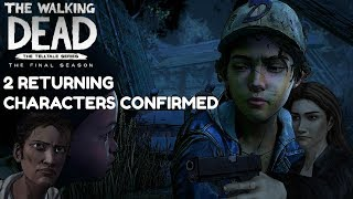 "The Walking Dead:Season 4: ""The Final Season"" Returning Characters Confirmed + Clem's Age - Twd s4"