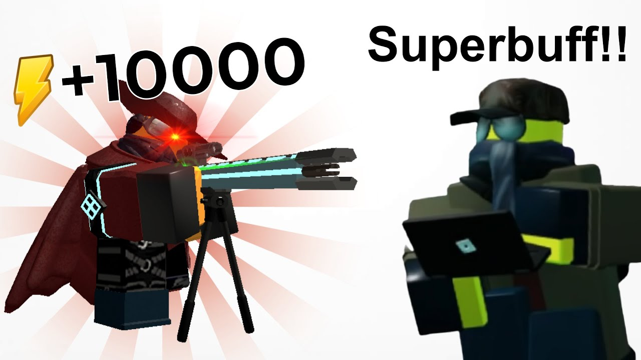 If you could superbuff towers... (TDS Meme)