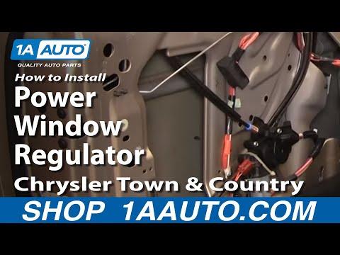 Como cambiar un motor de la ventana doovi for 2002 chrysler town and country window regulator
