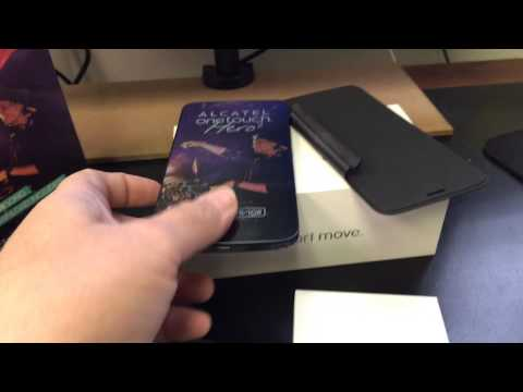 ALCATEL ONE TOUCH HERO 2 8030Y Unboxing Video – in Stock at www.welectronics.com