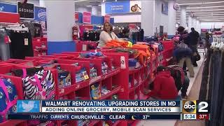 Walmart renovating, upgrading stores in Maryland