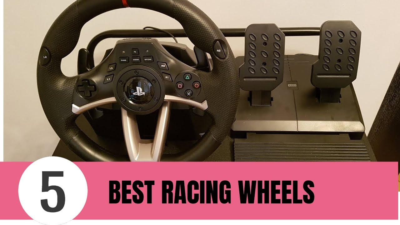 dae7b3a64bf 5 Best Racing Wheel In 2019 | Racing Wheel For PS4 & XBOX ONE - YouTube