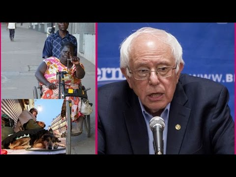 Bernie Sanders: How can we reduce poverty in the United States.